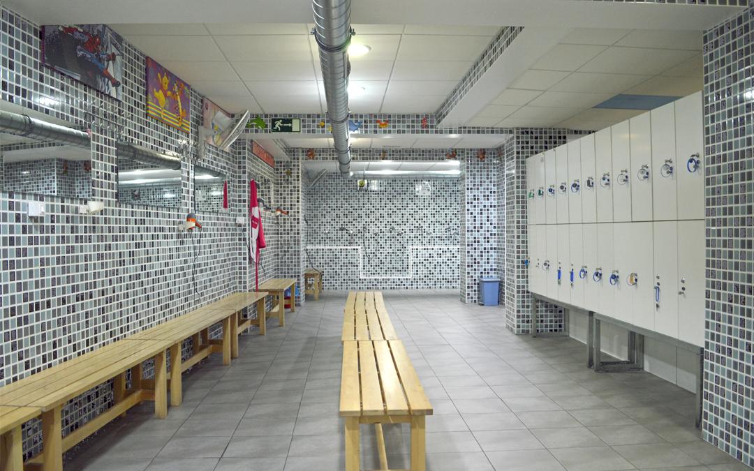 Instalaciones deportivas limpias, clientes satisfechos